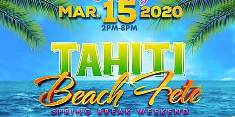 TAHITI - BEACH FETE tickets
