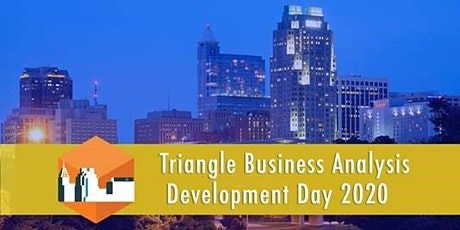 2020 Triangle BADD (Business Analyst Development Day)-Theme: Scaling Business Analysis: The BA for the New Decade tickets