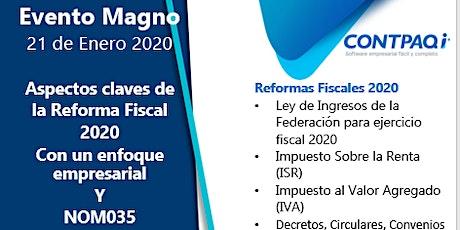 Aspectos de la reforma fiscal 2020 y NOM035 entradas