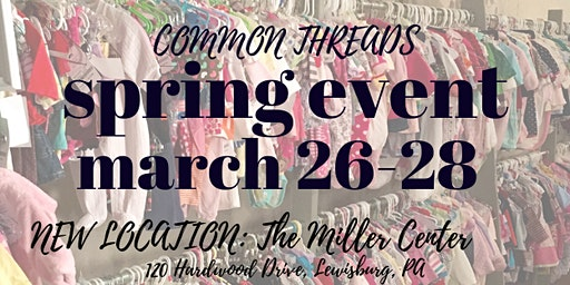 Common Threads Spring Sale Women's and Children's Consignment
