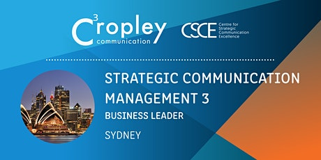 Strategic Communication Management 3: Business Leader tickets