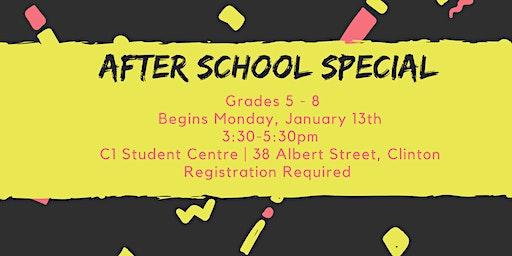 After School Special (Grades 5 - 8)