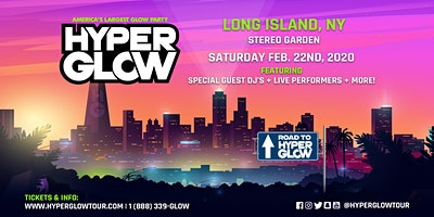 """Hyperglow Long Island, NY! """"America's Largest Glow Party"""""""
