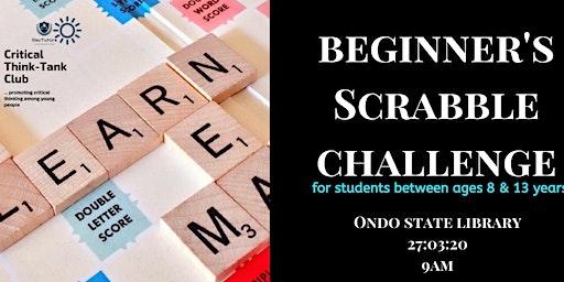 Beginner's Scrabble Challenge