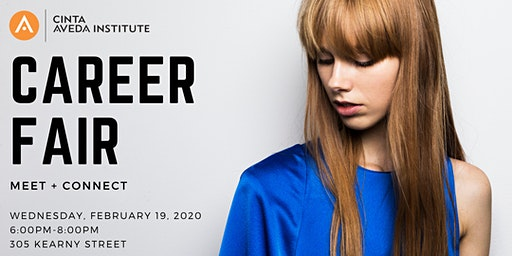 Cinta Aveda Institute 2020 Career Fair