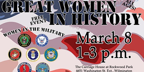 Women in the Military- Great Women In History Program tickets