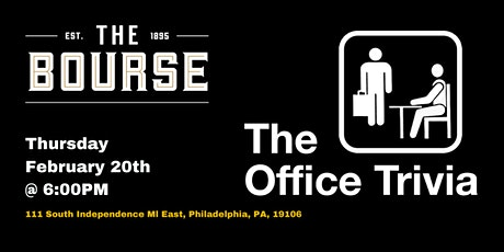 The Office Trivia at The Bourse tickets