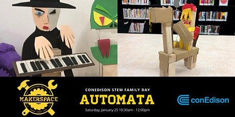 ConEd STEM Family Day: Automata tickets