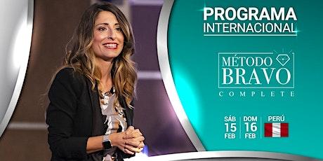 Programa Complete método Bravo (persuasión en público) entradas