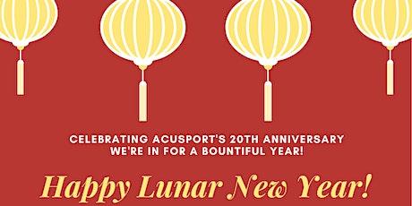 AcuSport's 20th Anniversary & Lunar New Year Celebration! tickets