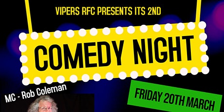 Vipers RFC Comedy Night tickets