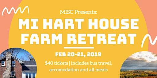 The MI Hart House Farm Retreat