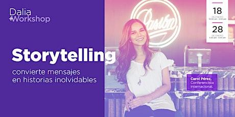 Storytelling: convierte mensajes en historias inolvidables entradas