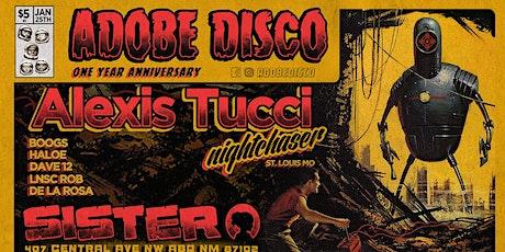 ADOBE DISCO 1 YEAR ANNIVERSARY tickets