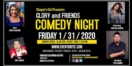 Chepa's Kid Presents... Glory and Friends Comedy Night tickets