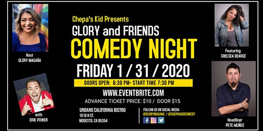 Chepa's Kid Presents... Glory and Friends Comedy Night