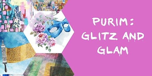 Art Journaling- Purim: Glitz and Glam