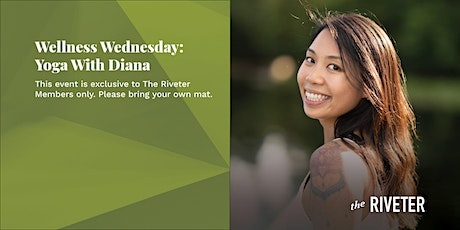 Wellness Wednesday: Yoga With Diana  at The Riveter Capitol Hill tickets