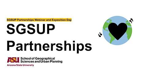 SGSUP Partnerships Webinar tickets