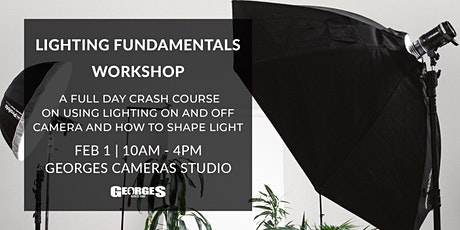 Lighting Fundamentals Workshop tickets