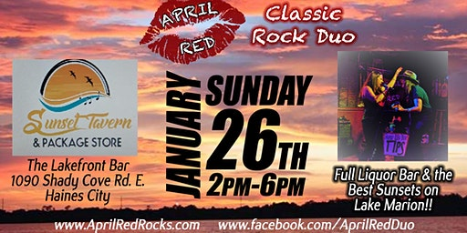April Red is Back to Rock Sunset Tavern in Haines City!