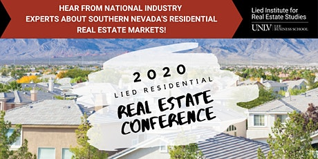 2020 Lied Residential Real Estate Conference tickets