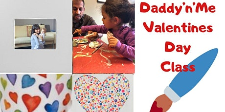 Daddy'n'Me Valentine's Day Frame Class (Pottery painting) tickets