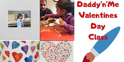 Daddy'n'Me Valentine's Day Frame Class (Pottery painting)