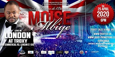 MOISE MBIYE LIVE IN LONDON TROXY tickets