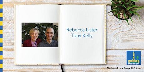 Meet Rebecca Lister and Tony Kelly - Wynnum Library tickets
