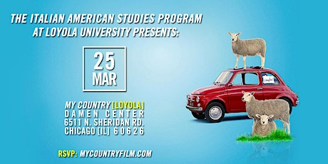 MY COUNTRY @ Loyola University Chicago (Wed. 3/25) tickets