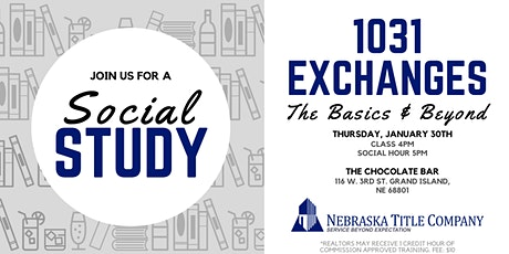 1031 Exchanges: The Basics & Beyond tickets