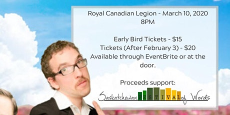 The Human Condition Spring Comedy Tour - Moose Jaw, SK tickets