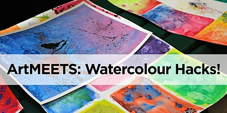 Winter ArtMEETS: Watercolour Hacks! tickets