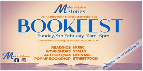 'Made in Midlothian' Bookfest tickets