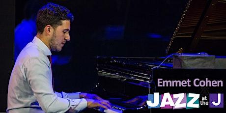 Jazz at the J: Emmet Cohen tickets
