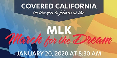 2020 Martin Luther King, Jr. MARCH FOR THE DREAM Sacramento Parade tickets