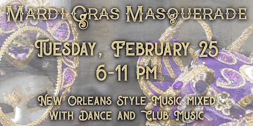 Mardi Gras Masquerade at the PAC