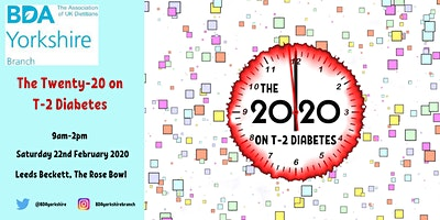 Attending in Leeds Ticket - The Twenty-20 on T-2 Diabetes