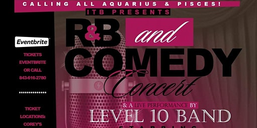 R&B and COMEDY CONCERT