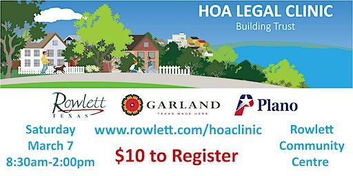 2020 HOA Legal Clinic