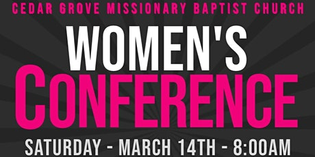 Womenś Conference 2020 - Cedar Grove MBC tickets