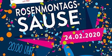 Rosenmontags-Sause mit DJ Burns Tickets