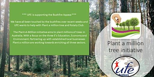 Rebuild after bushfires - UFE & Plant a million tree