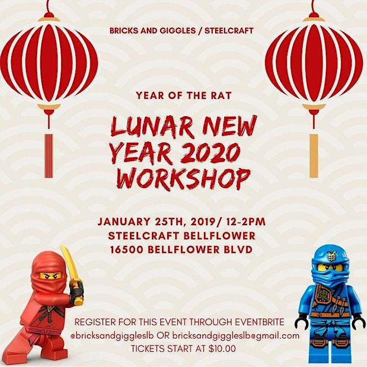 2020 LEGO Lunar New year Workshop image