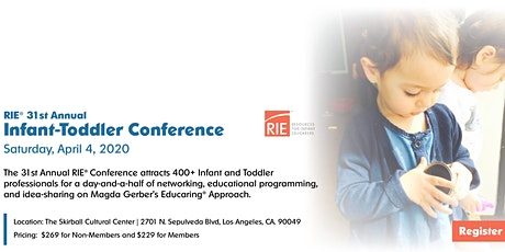 31st Annual RIE® Conference tickets