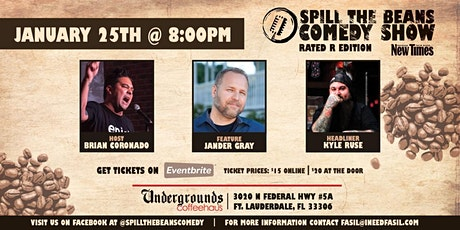 Spill the Beans Stand Up Comedy Show- Kyle Ruse tickets