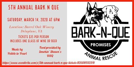 5th Annual Bark-N-Que