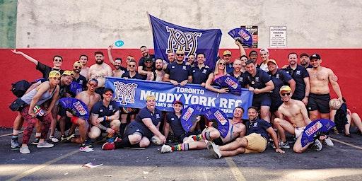 Toronto Muddy York Rugby 2020 New Player Practice