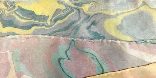 Suminagashi Workshop: The Japanese Art of Marbling: Paper and Silk Scarves